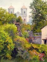 View of the Basilica in Bardo (Silesia Poland) by Dreamnr9