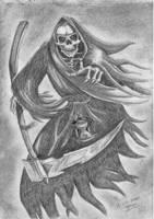 grim reaper by JillyFish123