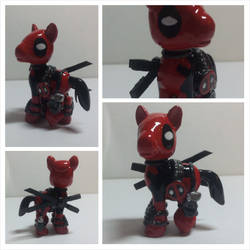My Little Pony Custom Blindbag: Deadpool by CJEgglishaw