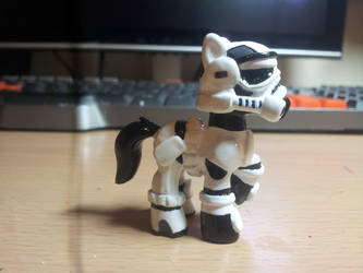 My Little Pony Custom Blindbag: Storm Trooper by CJEgglishaw