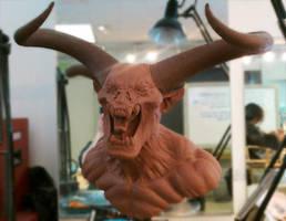 Screaming Demon, WiP by JoynerStudio
