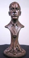 H. P. Lovecraft Bust by JoynerStudio