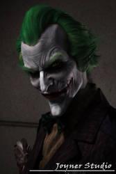 Arkham Asylum Joker Makeup by JoynerStudio