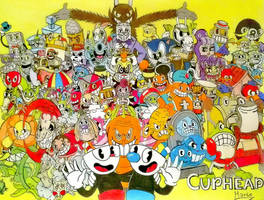 Mural Cuphead. by Mario-19