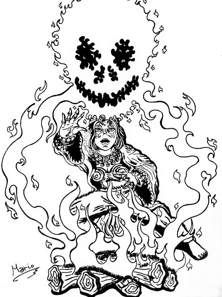 Bon Fire. by Mario-19