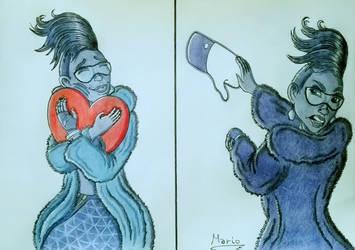 Hug, Like! Back, Dislike! by Mario-19