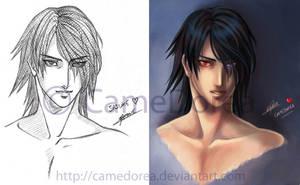 Adult Sasuke by CameDorea