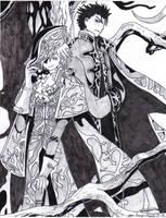 Kuro and Fye by Saenda