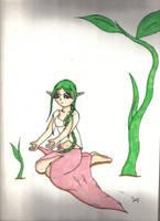 Earth priestess by Saenda
