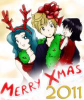 Hotaru's Xmas Gift by ReySogryHaruka