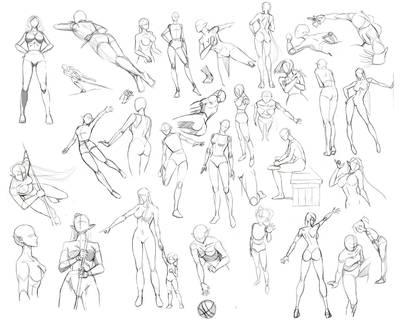 Female anatomy by Precia-T