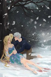 Jack Frost with Starina (commision) by Precia-T