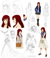 Gentle girl design, Kaho (Commision) by Precia-T