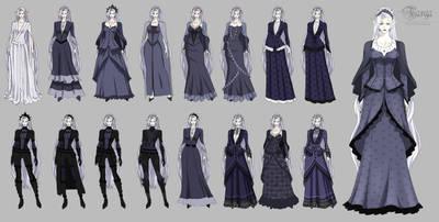 TARGA- Felicia casual/training outfit design by Precia-T