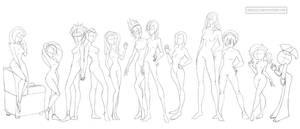 Female anatomy 7 (cartoonish) by Precia-T
