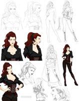 Jayna design (commission) by Precia-T