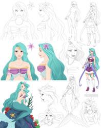 Mermaid Malta (commission) by Precia-T
