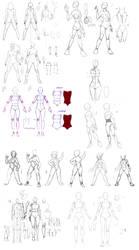 Anatomy tuning example by Precia-T