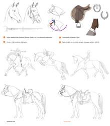 Horses + riders by Precia-T