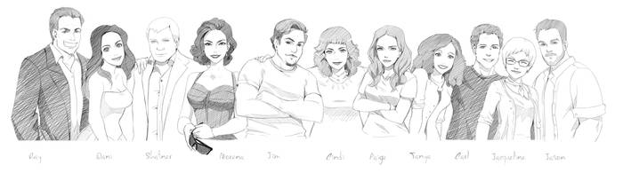 MALEVOLENT Team - Who is your favourite ? by Precia-T