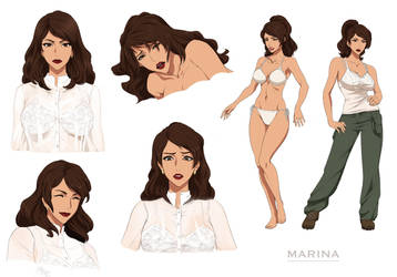 Marina - commission by Precia-T
