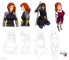 Freija  sheet - commission by Precia-T