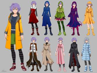 Suzu wardrobe - commission by Precia-T