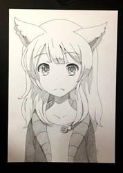 Fox girl by Precia-T