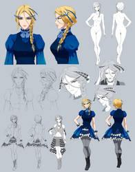 Claire - commission by Precia-T