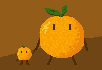 Orange and tangerine by sergilazaro