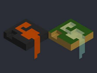 Voxel mini-worlds by sergilazaro