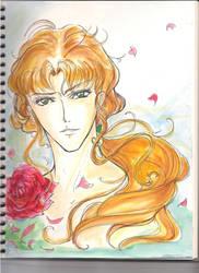 Zoisite Watercolor Sketch by HuiHua