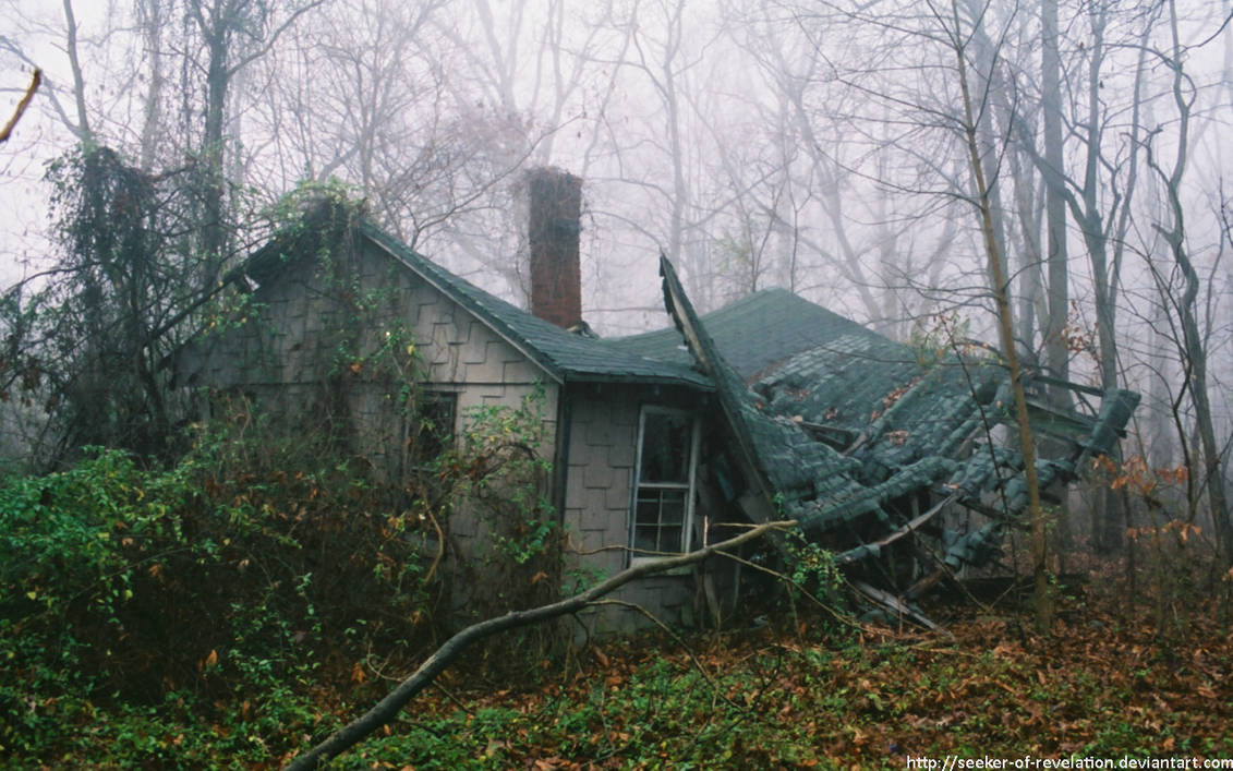 Collapsed roof by NickACJones