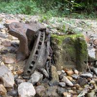 Disc brake rotor with cinderblock by NickACJones