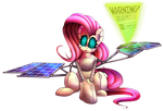 Fluttershy is Actually a Robot by Extra-Dan