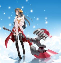 Haruna Kai Ni - Fantasy Weapon Style by Raynart-Tradnor