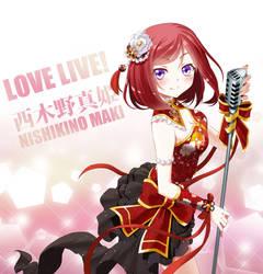 Love Live - Maki Nishino by Raynart-Tradnor
