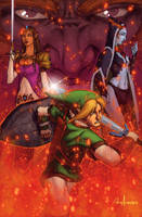 Legend of Zelda by Ross-A-Campbell