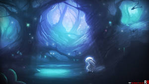 ori and the blind forest_fanart by AxisPOV