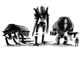 Battlemech Concept by Annamalie