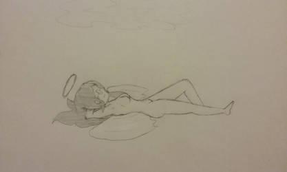 Resting Angel by GreyPanda7