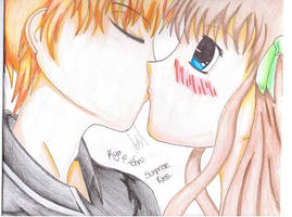 Surprise Kiss Kyo X Tohru Coloured Scan by SamBam2177