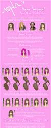 Asha's Hair Tutorial 3- Curly by Icecradle