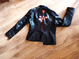 Depeche rose jacket by Tiofrean