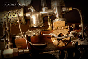 steampunk gun - ghost blaster by steamworker