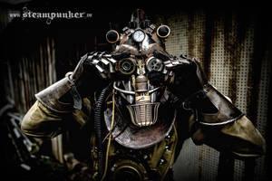 Steampunk Timetraveler by steamworker