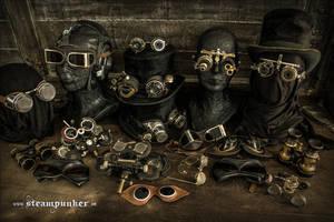 Steampunk Accessoires by steamworker