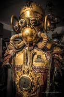 Steampunk costume - warrior by steamworker
