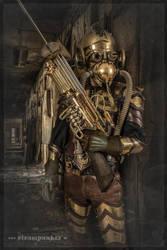 Steampunk Armor by steamworker