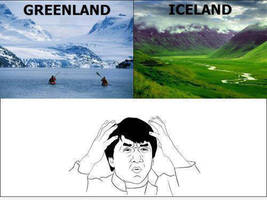 Greenland Vs. Iceland by SweetlySouthern
